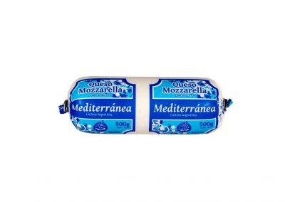 Queso Mozzarella Mediterránea de Lácteos Aurora 500g aprox.