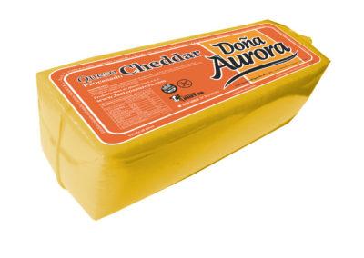 Queijo Cheddar Doña Aurora de Lácteos Aurora 4Kg aprox.