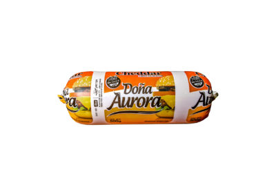 Cheddar Cheese Doña Aurora by Lácteos Aurora 500g