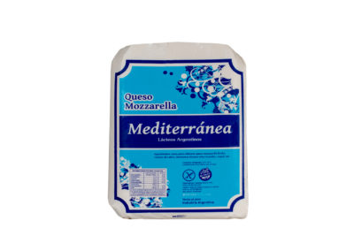 Mozzarella Mediterránea Cheese by Lácteos Aurora 10Kg approx.