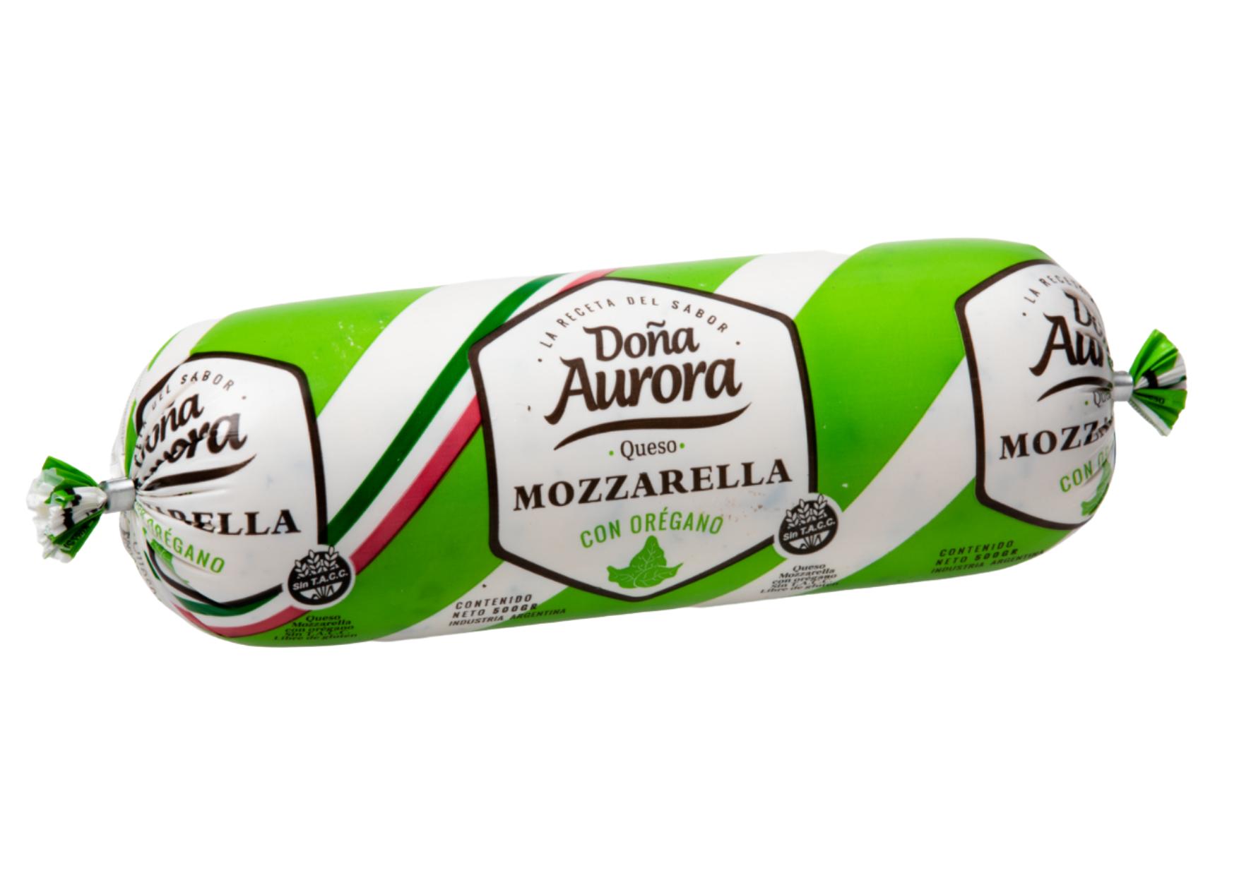 Doña Aurora Oregano Mozzarella Cheese by Lácteos Aurora 500g