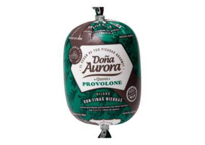 Queso Provolone para picadas Doña Aurora Fina Hierbas