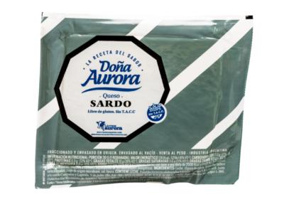 Queijo da Sardenha Doña Aurora em porções